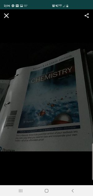 Introductory chemistry 6th edition for Sale in Orange Cove, CA