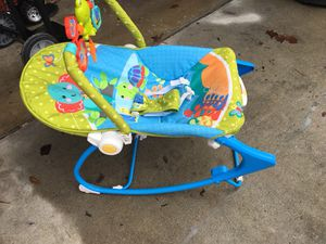 Fisher-Price baby Bouncer/ chair for Sale in Camp Lejeune, NC