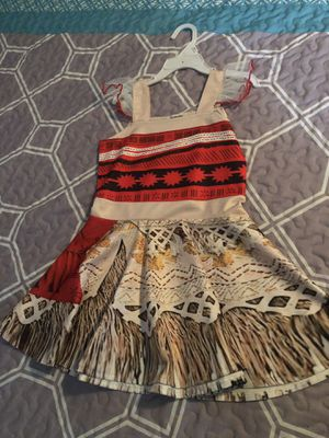 🌺Moana dress and party supplies🌺 for Sale in Austin, TX
