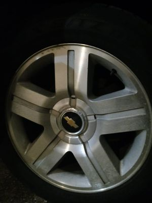 "Chevrolet Silverado 20 X 9"" rims for Sale in Pasadena, TX"