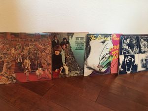 The Rolling Stones Record albums. It's only rock 'n' roll. Big hits with original booklet. Love you live double album. Emotional rescue for Sale in Tampa, FL