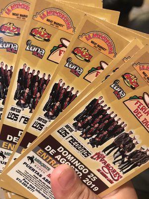 Tickets / Boletos !! for Sale in Dallas, TX