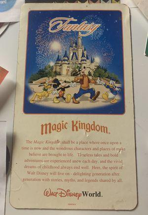 Disney Vintage Fantasy Magic Kingdom Magnet for Sale in Davenport, FL