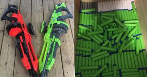 Two Electric Nerf guns 🔥 for Sale in Kennesaw, GA