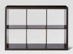 Black 6 cube organizer shelf for Sale in Alhambra, CA