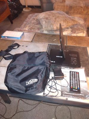 Portable DVD player with everything included for Sale in Gulfport, FL