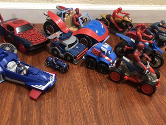 spiderman,iron man,captain america mobile lot for Sale in Milpitas,  CA