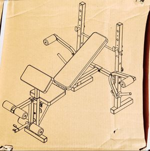 Body Champ Weight Bench with Butterfly and Leg Curl Extension for Sale in Benicia, CA