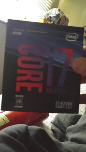 I7-8700k new unopened for Sale in Edmonds, WA