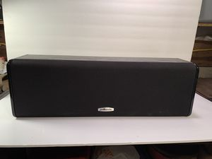 POLK AUDIO Center Channel High-Definition Wired Speaker (Model CS10) for Sale in Dade City, FL