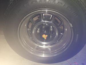 Buick grand national rims and center caps for Sale in Atlanta, GA