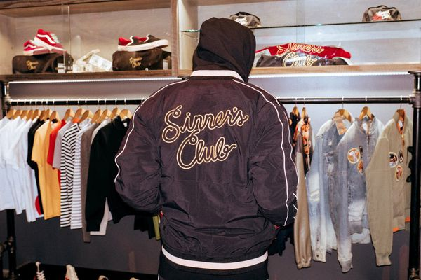 """Feature X Mitchell & Ness """"Sinner's club"""" vans pack capsule"""