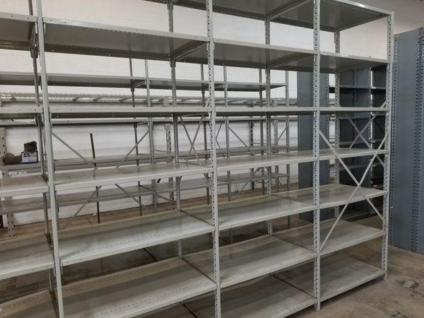 5 Garage shelves