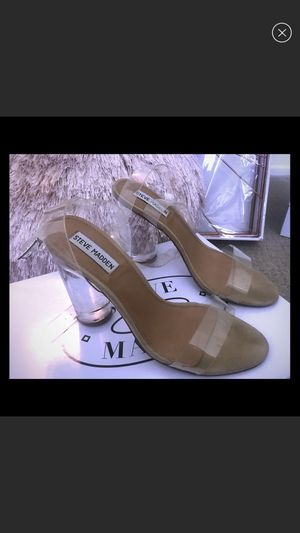 Steve Madden clear heels 8.5 for Sale in Glendora, CA