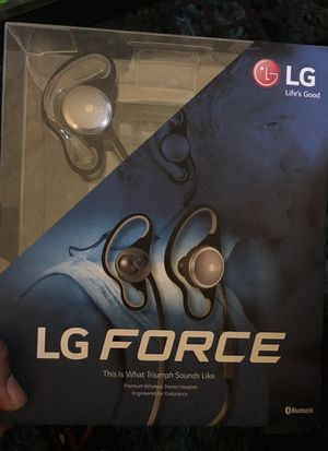 Lg force Bluetooth headset for Sale in Philadelphia, PA