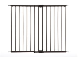 """Toddleroo by North States Easy Swing & Lock Baby Gate 28.68""""-47.85"""" Wide 31""""T Matte Bronze SUMMERLIN for Sale in Las Vegas, NV"""