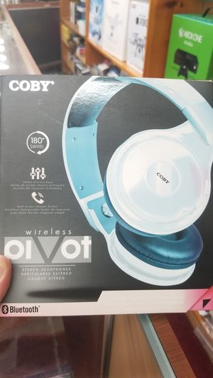 COBY WIRELESS HEADPHONE STEREO FOR SALE!!! for Sale in undefined