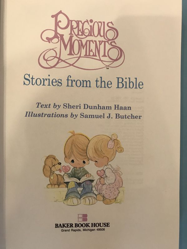 Precious Moments - Stories from the Bible (281 Pages - Baker Book House)