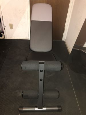 Workout bench for Sale in Fresno, CA