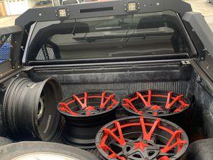 2014&up Toyota Tundra 5lug Rockstar rims 20x10 for Sale in Richmond, CA