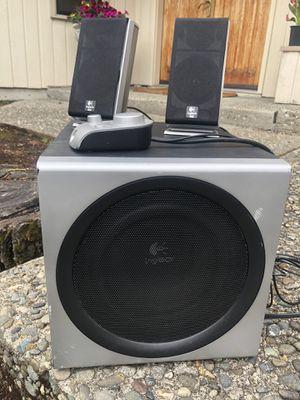 Logitech THX gaming or tv sound enhancer... Super bass and detail for Sale in Redmond, WA