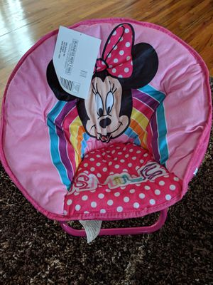 Minnie mouse saucer chair. for Sale in Inman, SC