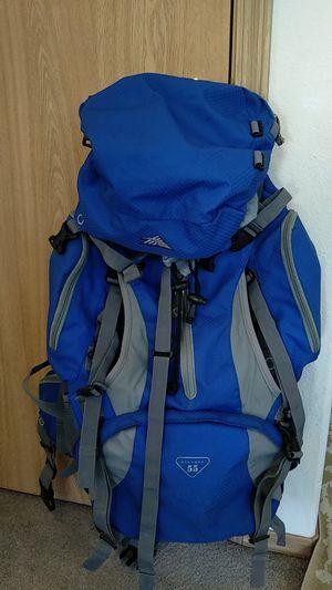High Sierra 55 gallon hiking/traveling backpack. for Sale in Gresham, OR