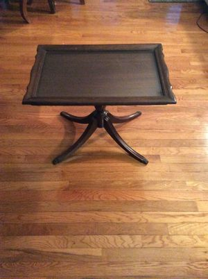 Antique Mahogany Tea Table for Sale in Quincy, MA