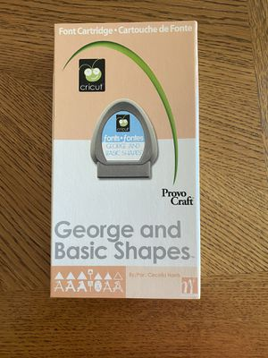Cricut George and Basic Shapes Cartridge for Sale in Fremont, CA