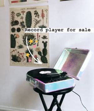 Bluetooth record player for Sale in Chicago, IL