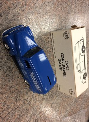 ERTL 1951 GMC PANEL BANK COLLECTORS TOY for Sale in Boca Raton, FL