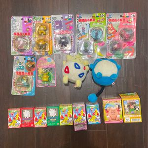 pokemon toys Lot plush figures new from Japan for Sale in Hollywood, FL