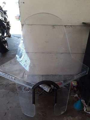 Universal motorcycle windshield for Sale in Hamilton, MS