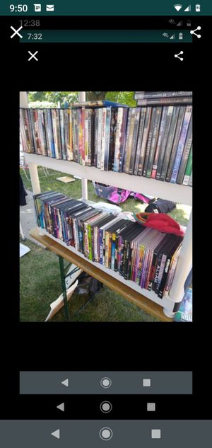 100 DVD's action.comedies,ghost hunters.ancient aliens,ghost cops alot of paranormal. Odd things kid things.ect for Sale in Lincolnwood, IL