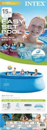 """15' x 48"""" most popular Above Ground Swimming Pool Intex for Sale in Boston, MA"""