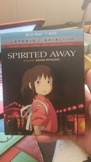 Spirited away blue ray and dvd for Sale in Woonsocket, RI
