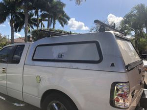 Truck topper camper shell top- ford-150 for Sale in Miramar, FL