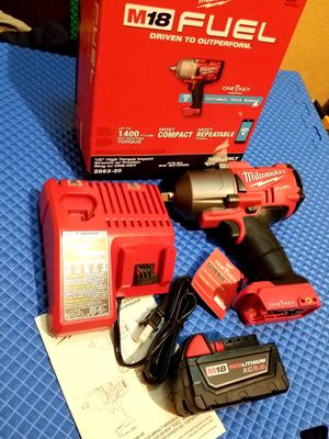 """Milwaukee 1/2"""" Impact Wrench Brushless Fuel 1400lbs ONE KEY kit M18 for Sale in Norwalk, CA"""