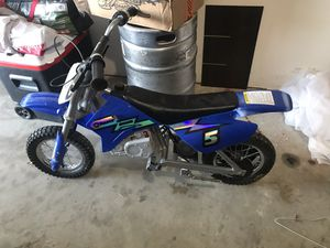 Razor 350 electric dirt bike for Sale in Dallas, TX