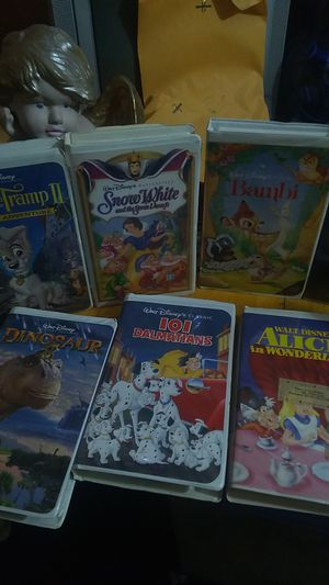 Disney movies bambi-Snowwhite Pinocchio many more for Sale in Portland, OR