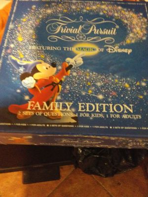 Disney trivial pursuit family edition 1986 for Sale in Spring, TX