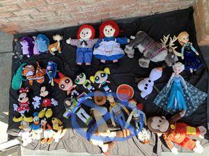 Movie TV stuffed animals for Sale in Sacramento, CA