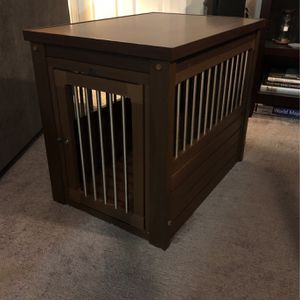 Dog crate: Small EcoFlex Dog crate, Wood grain Look, 30Lx21wx25h for Sale in Lakewood Township, NJ