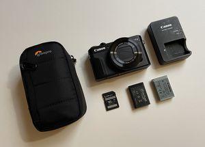 Canon PowerShot G7 X Mark 2 Digital Camera for Sale in Concord, CA