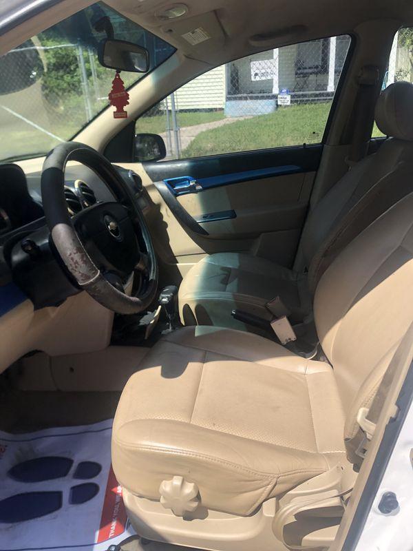 2007 Chevy aveo LT