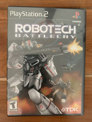 Robotech Battlecry PS2 game manual included for Sale in West Sacramento, CA