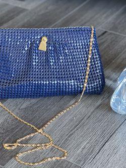 80s Blue Mesh Clutch • Purse • for Sale in Alexandria,  VA