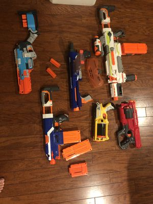 Nerf guns (Nerf bullets not included) for Sale in Sacramento, CA