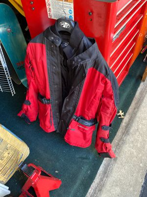 Motorcycle Joe Rocket textile jacket and removable liner for Sale in Newtown, PA
