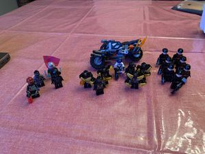 Lego minifigures and captain America's bike for Sale in Houston, TX